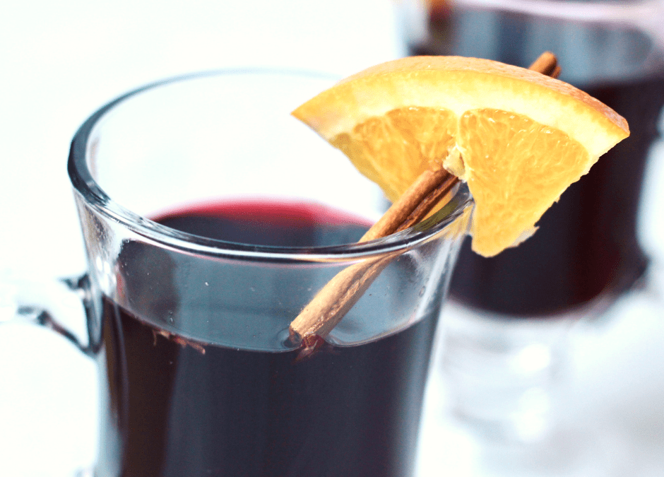 Healthy Hot Mulled Wine for Cold Winter Nights