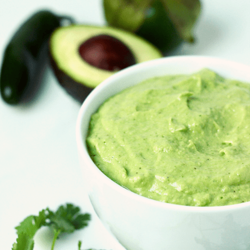 avocado tomatillo salsa verde featured image