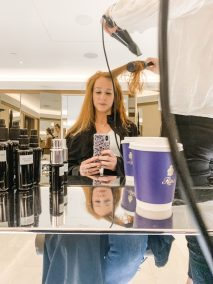 Ritz Paris salon blowout
