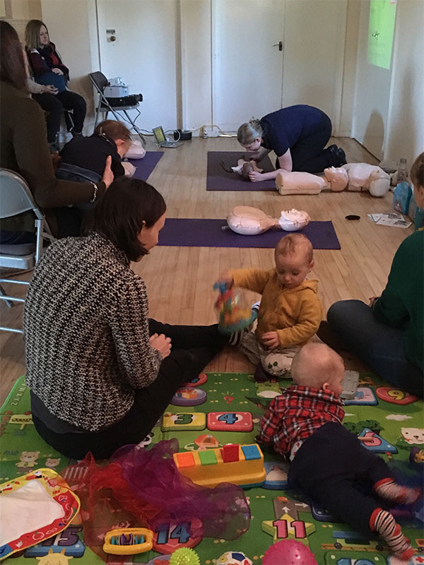 postnatal and prenatal workshops and courses