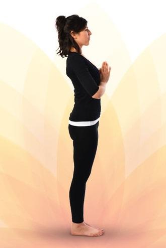 SuryaNamaskar-Prayer Pose