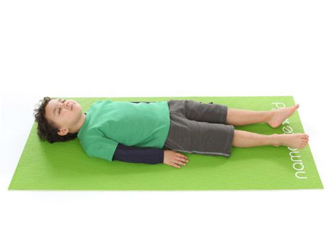 Yoga - Corpse pose for kids