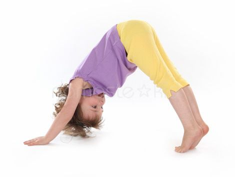 Yoga - Dog pose for kids