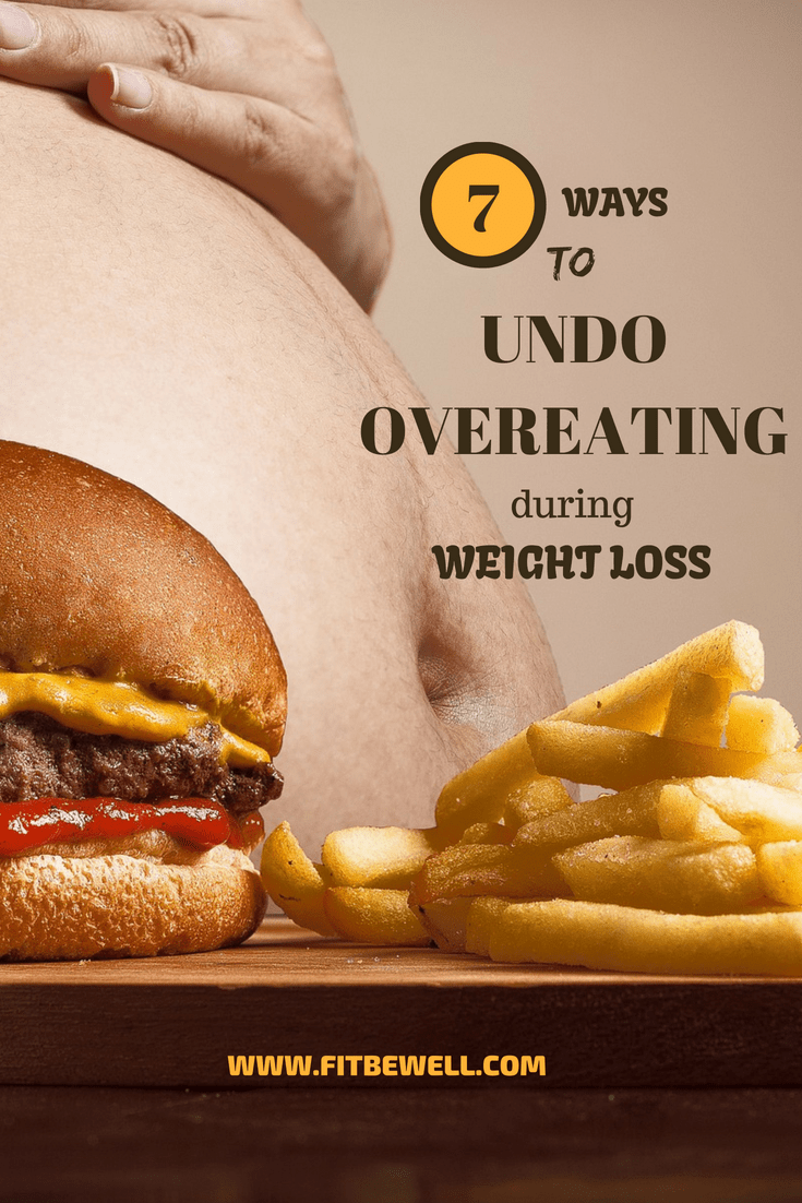 How to UNDO OVEREATING during weight loss