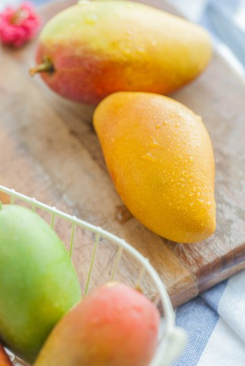 Mallika mangoes are a best choice to make sugar free mango jam