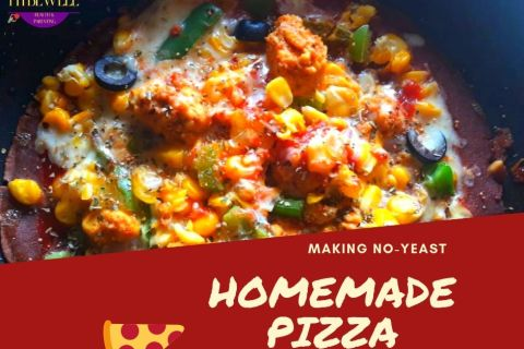Making Low CARB Healthy Homemade Pizza without oven