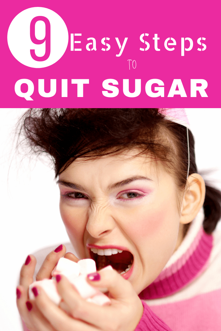 9 easy steps to quit refined sugar