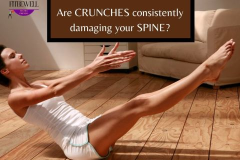 Are crunches consistently damaging your spine?