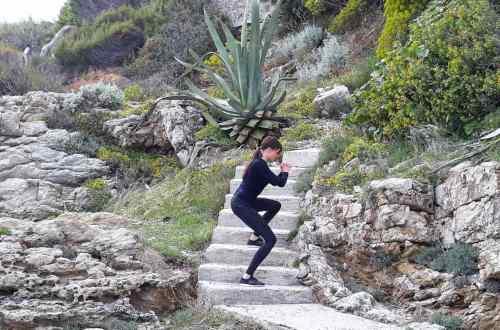 Trening na schodach Ćwiczenia na schodach fitblog
