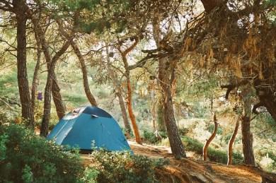 akcesoria na kemping, namiot na kemping