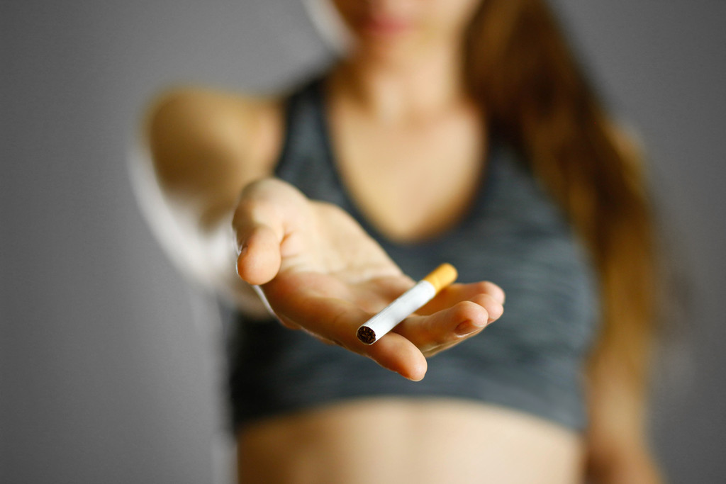 Palenie papierosów vs Treningi i fit sylwetka