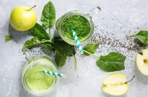Zielone koktajle, koktajle ze szpinakiem, fit przepisy, fit blo
