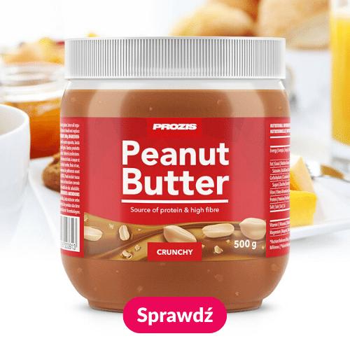 masło orzechowe 100% orzechy