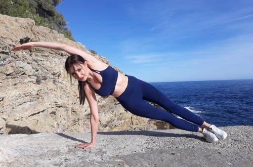 Ćwiczenia na płaski brzuch Plank bokiem
