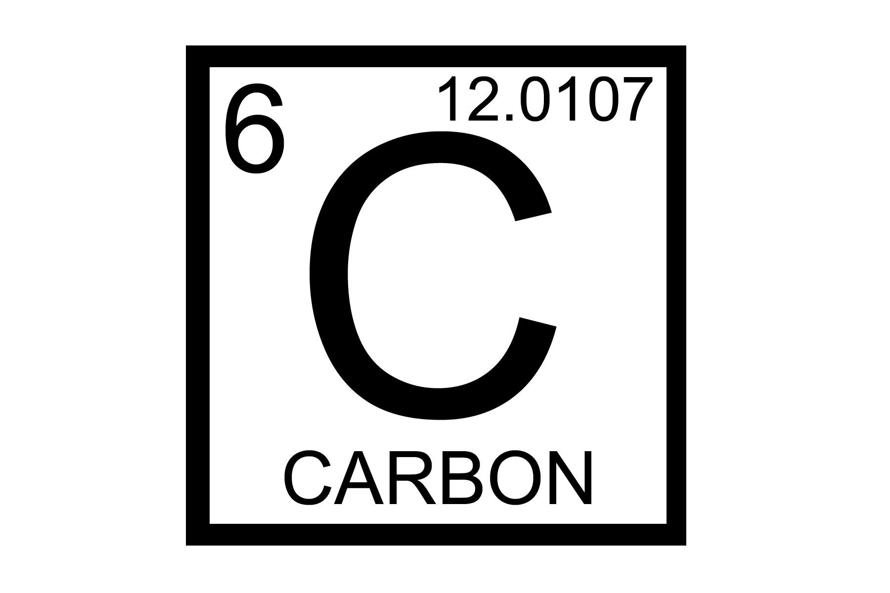 Element Name Carbonsymbol Catomic Number 6atomic Mass 12