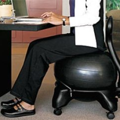Yoga Ball Chair Reviews Cracker Barrel Rocking Cushions The Best Excellent Benefits Fit Clarity Exercise