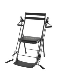 resistance chair exercise system reviews bean bag cover the best gym get fit while sitting clarity on amazon total body workout black