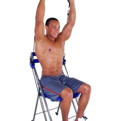 Chair Gym Reviews Steel Covers Total Body Workout The Mercedes Benz Kitchen And Living Space Interior