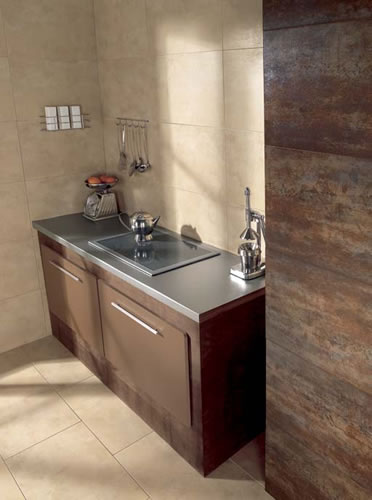 Iron Arena Wall and Floor Tile  Beige Stone Porcelain