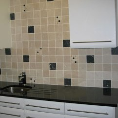 Stone Kitchen Flooring Organizing Ideas Tiles - Nero Marquina Marmol Wall Tile Black ...