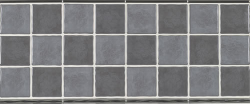 Kitchen Tiles  Mexicana Gris Wall Tile  Dark Grey Ceramic Gloss