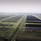 Auschwitz From the Air Filmed by a Drone