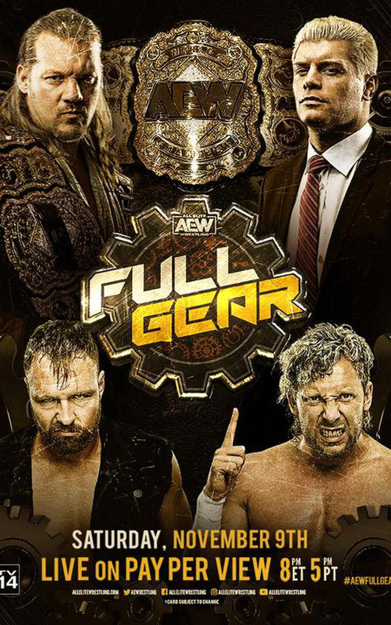 Aew Full Gear Official Ppv Replay Fite