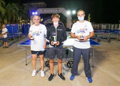 Foto 1 Tappa Ping Pong Tour 2021 di Arma di Taggia il podio del torneo del TTX