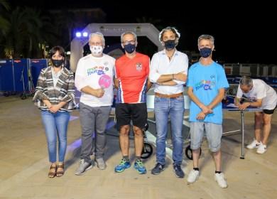 Foto 2 Tappa ping Pong Tour 2021 di Arma di Taggia gli organizzatori e le autorità politiche