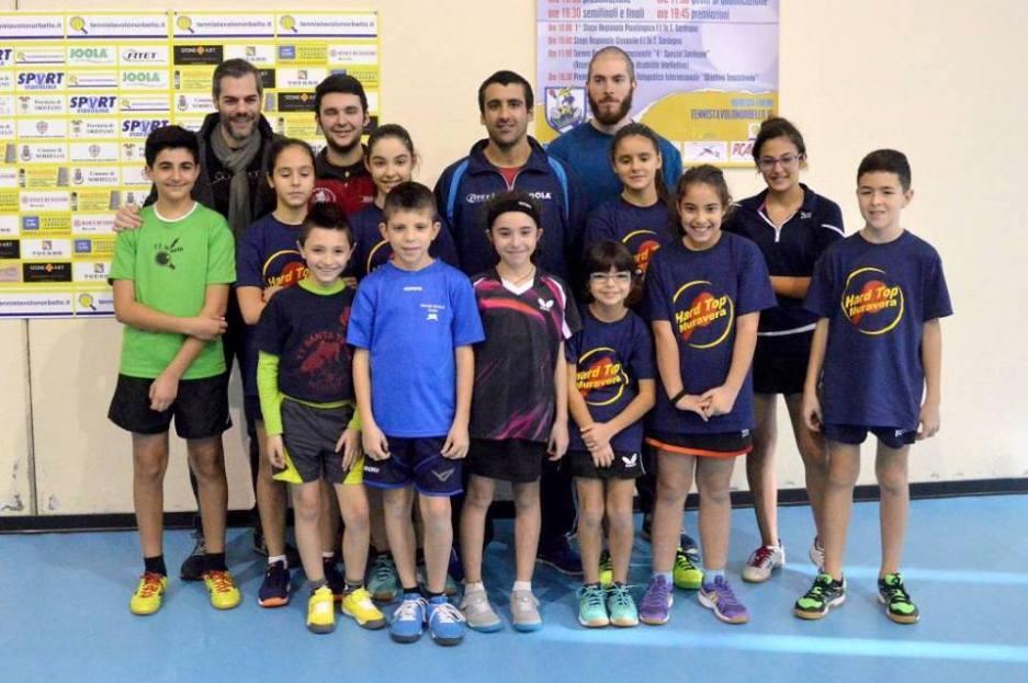 I partecipanti al terzo stage giovanile regionale (Foto Luciano Saiu)