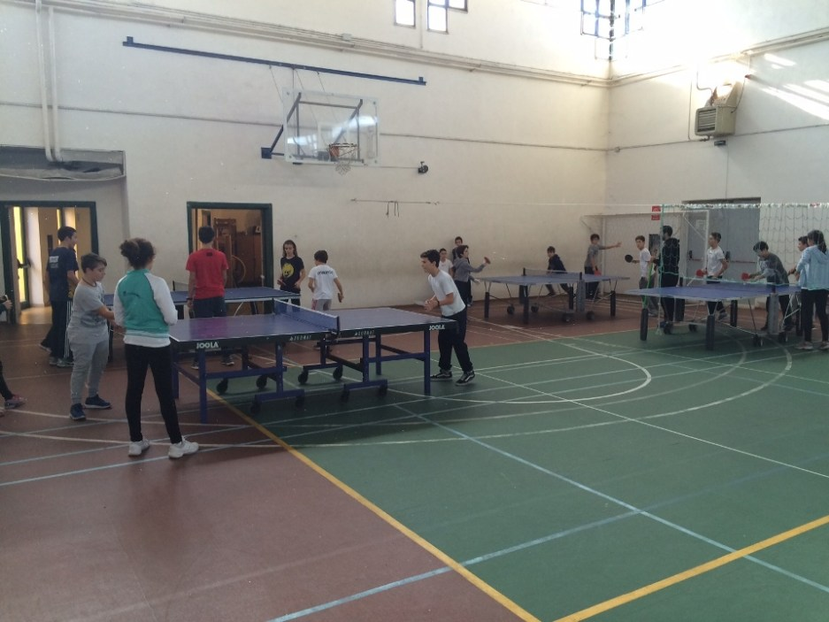 Lezione di Tennistavolo al Porcu Satta