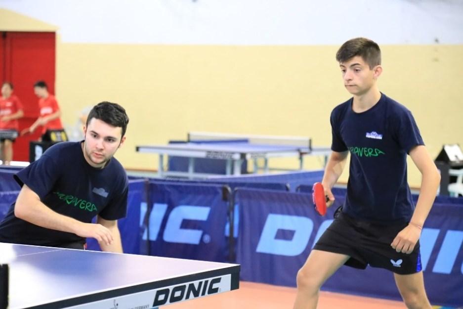 a dx Stefano Macis con il suo compagno Nicola Pisanu (Foto Tomaso Fenu)
