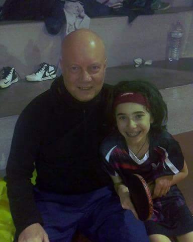 Rossana Ferciug con Ken MCLeod