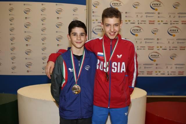 Carlo Rossi e il russo Katsman