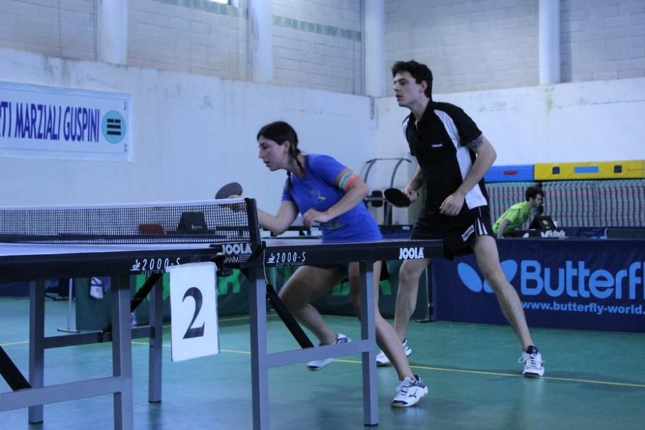 Eleonora Trudu e Andrea Zuccato (Foto Eleonora Piras)