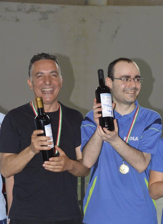 Michele Lai con Fabrizio Melis (Foto Antonello Sanna)