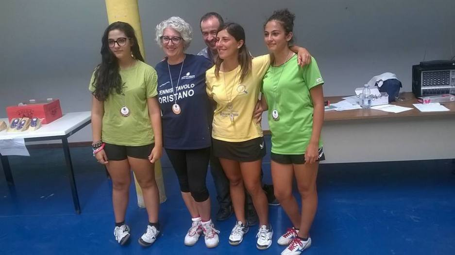 Podio Over 2000 femminile (Foto TT Monserrato)