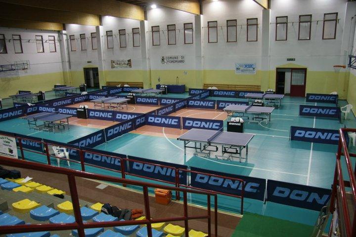 Il Palazzetto dello Sport di Decimomannu (Foto Tomaso Fenu)