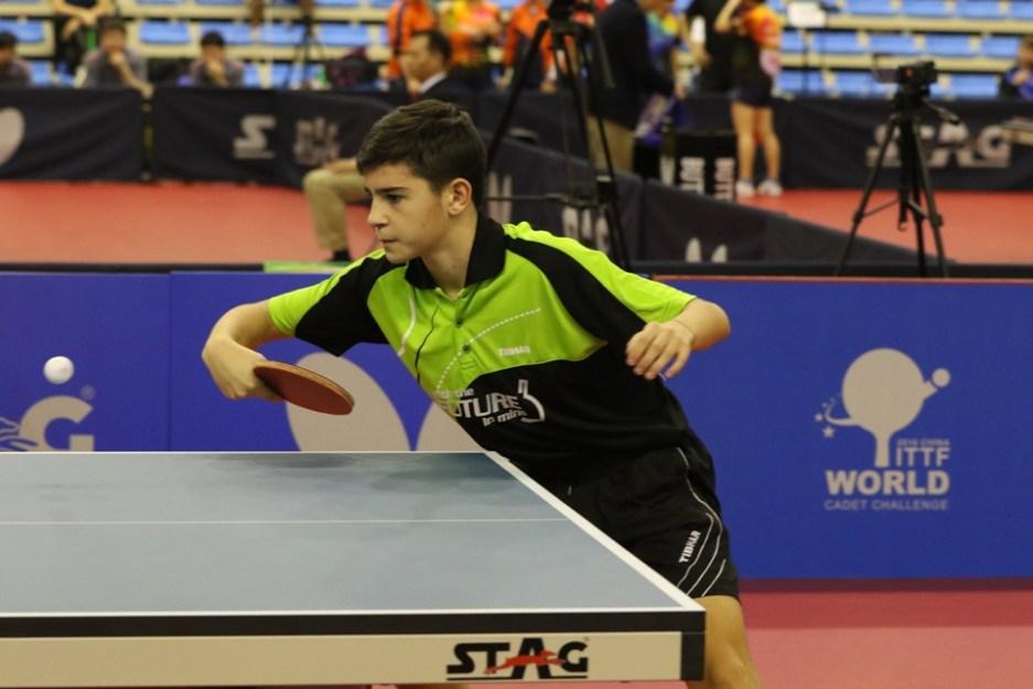 Carlo Rossi (Foto ITTF)