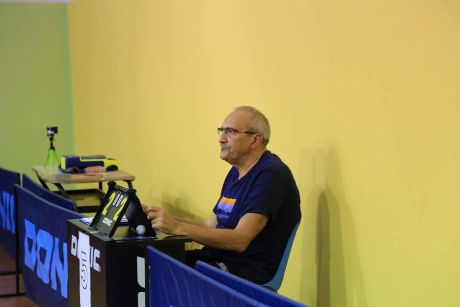 Fabrizio Carta non starà a guardare nella B Veterani (Foto Tomaso Fenu)