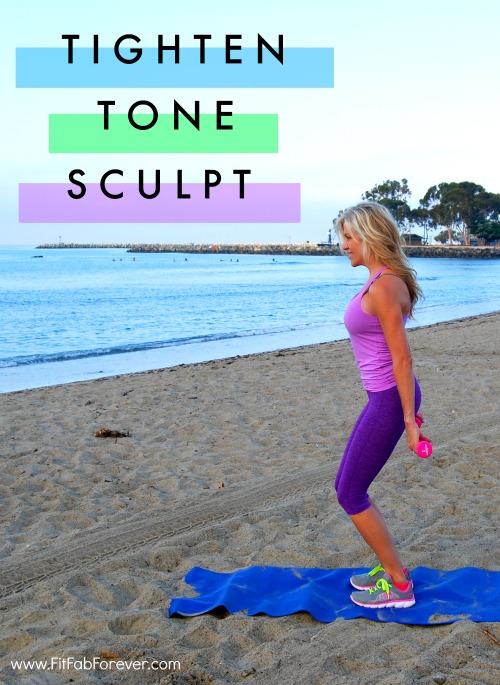 Tighten, Tone & Sculpt Your Arms