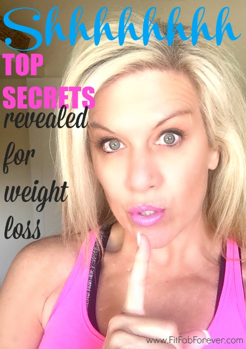 Top Secrets Revealed for Weight Loss