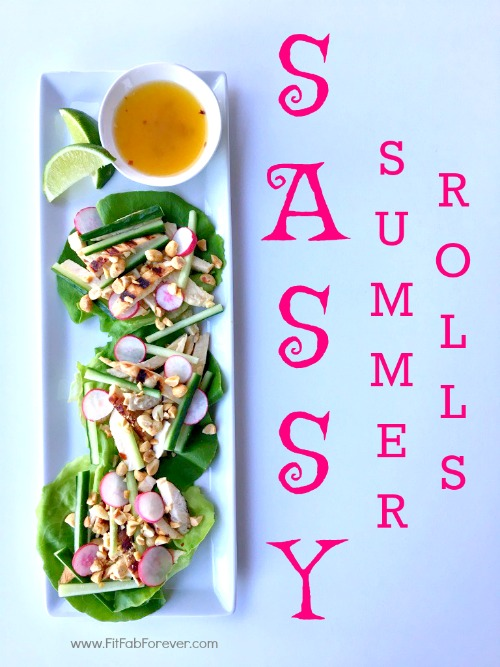 Sassy Summer Rolls: A Simple & Nutritious Meal in 20 Minutes