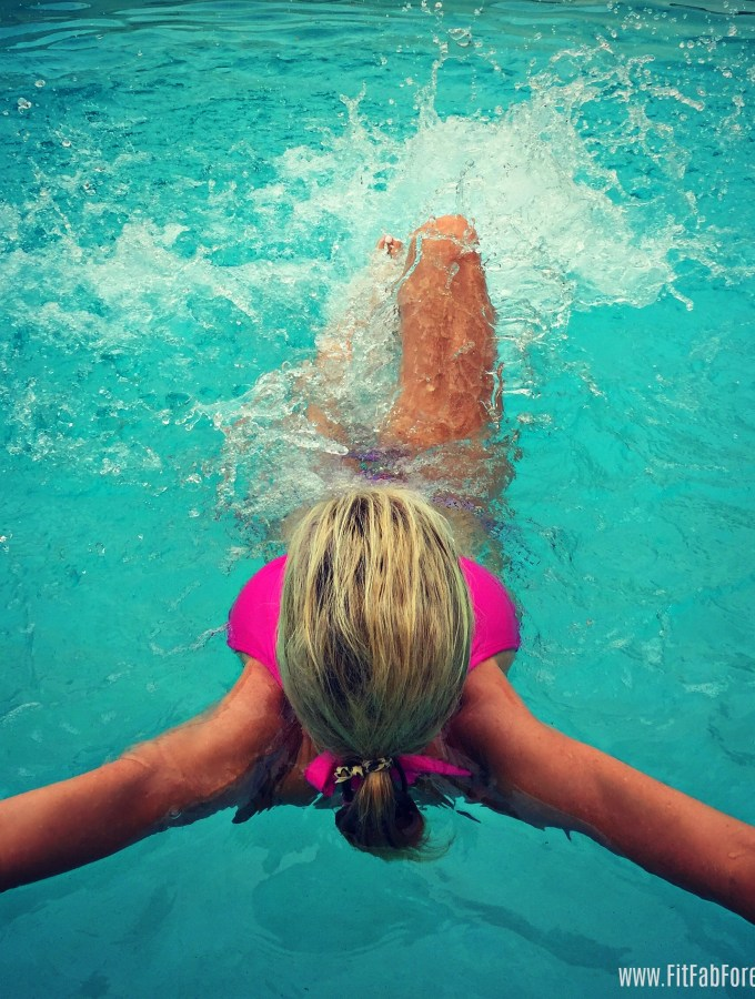 Pool FIT for burning fat & toning