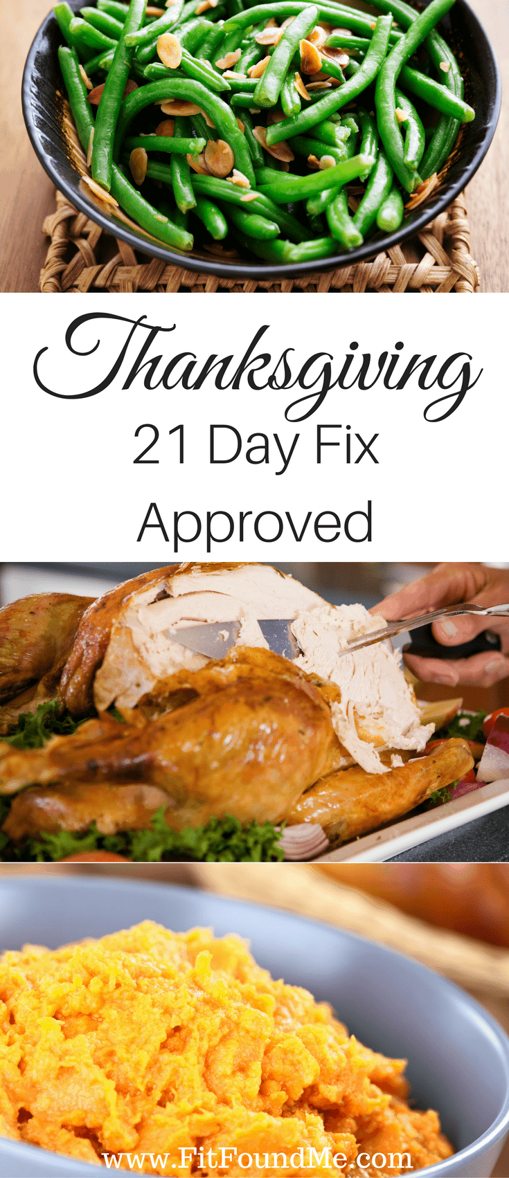 21 Day Fix Approved Thanksgiving