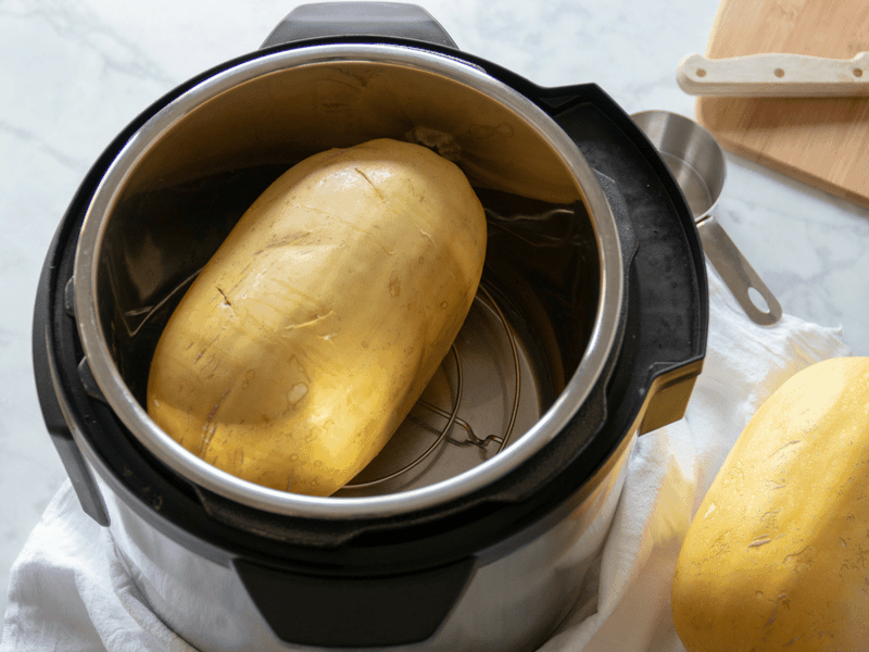 spaghetti squash in instant pot for quick cooking