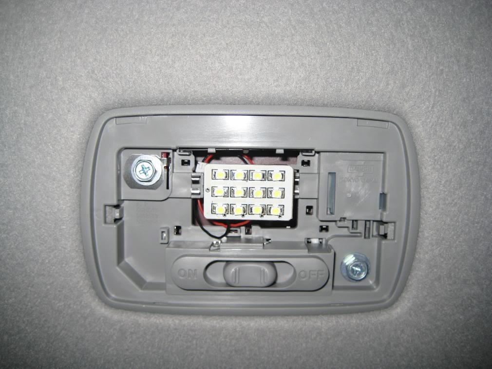 2007 Honda Fit Interior Light Bulb