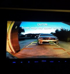 reverse wire jpg backup camera how did you run the wiring reverse screen view [ 4032 x 3024 Pixel ]