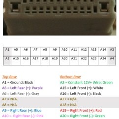 Honda Today 50 Wiring Diagram 2002 Ford F350 Stereo Radio Harness Pin Layout - Unofficial Fit Forums