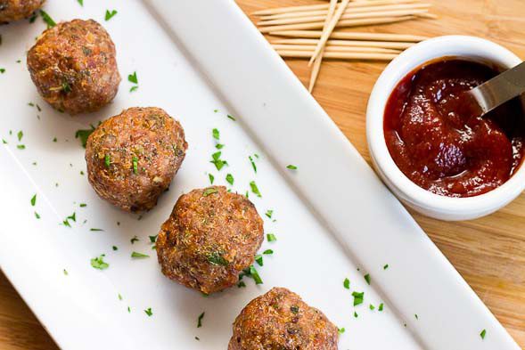 FABulous Turkey Meatballs - Fit, Fyne & Fabulous